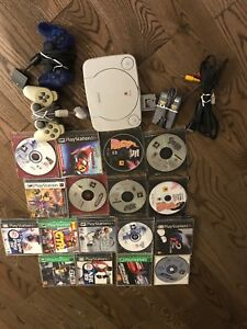 PlayStation 1 with Accessories and Lots of Games