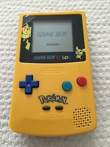 Nintendo Game Boy Color Pokemon Pikachu Limited Edition Yellow Handheld System