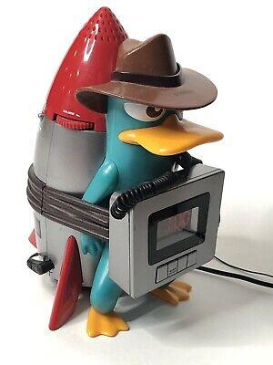 Disney Alarm Clock Radio Perry The Platypus Unique Kids Alarm Clock
