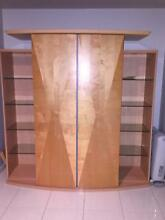 Contemporary European Birch Wood Entertainment/Drinks Cabinet. Chapel Hill Brisbane North West Preview