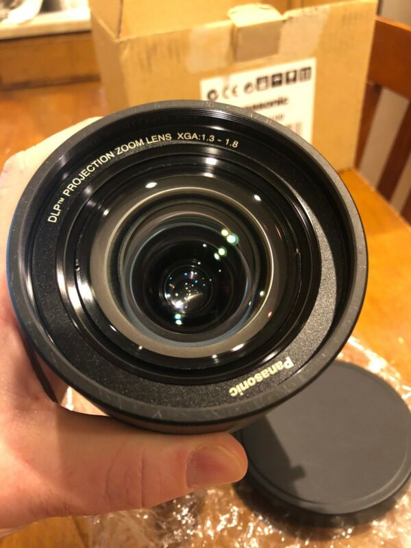 Panasonic ET-DLE100 DLP Short Throw Zoom Lens Lens XGA:1.3-1.8:1