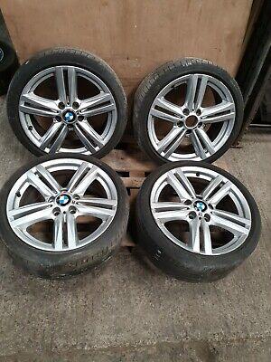 2014 BMW 1 3 SERIES F30 M SPORT SET OF ALLOY WHEELS 18''  7845853