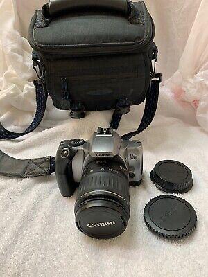 Canon EOS Rebel K2 Camera  With 18-55mm Lens Black Samsonite Bag