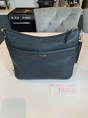Kate Spade New York Polly Leather Medium Shoulder Bag, Black. Brand New RRP £295