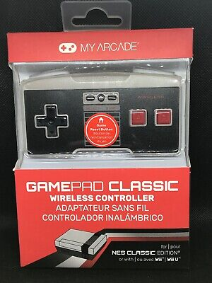 My Arcade Gamepad Classic Wireless Controller-NES Classic Edition,Wii,Wii U *NEW