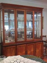 DINING SUITE- Large display/buffet, extending dining table,chairs Cashmere Pine Rivers Area Preview
