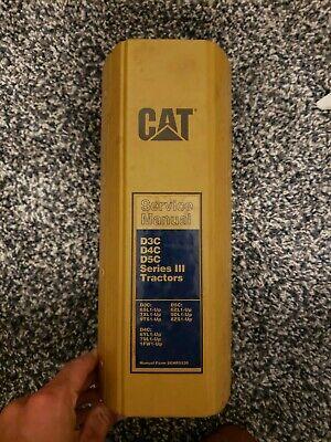 CAT CATERPILLAR D3C D4C D5C SERIES III DOZER SERVICE SHOP REPAIR MANUAL for sale  Shipping to Canada