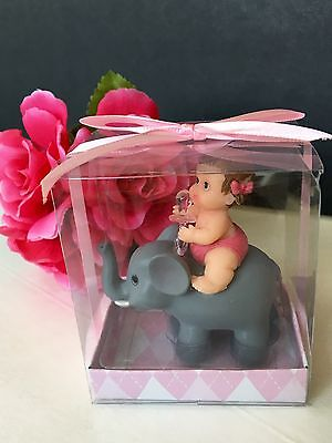 12 Baby Shower Elephant Favors Party Decorations Animals Safari Figurines Jungle - Baby Elephant Party Decorations