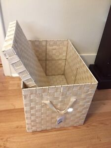 2 Storage Containers- New with tags