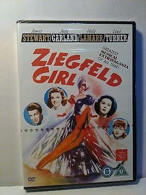 Ziegfeld Girl - Judy Garland, James Stewart, Lana Turner - UK DVD - New/Sealed