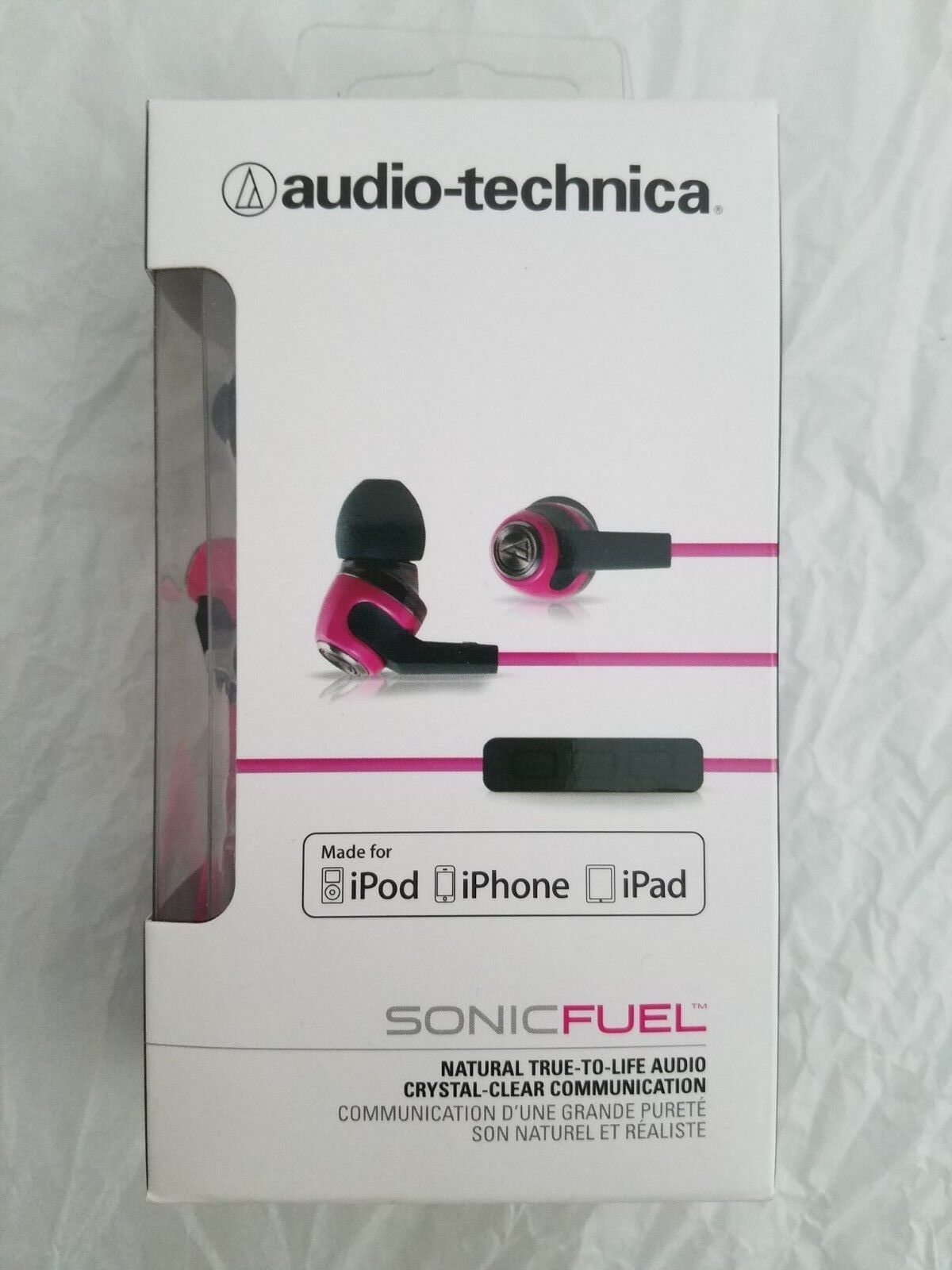 Audio-Technica ATH-CK323i SonicFuel In-Ear Headphones with M