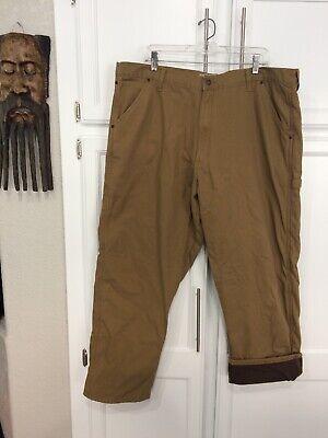 WRANGLER Authentics Mens Fleece Lined Carpenter Pants Work Utility 40x30