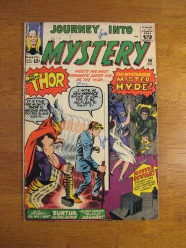 JOURNEY INTO MYSTERY/THOR #99 (FN/FN+) Super Bright, Colorful & Glossy!