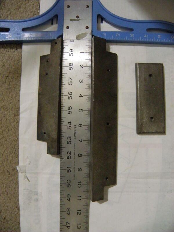 AVIATION Tungsten ANGLE  Counterweight Ballast w/  BUCKING BAR uses 3.7 POUNDS