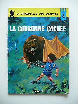 EO 1965 (bel état) - La Patrouille des Castors 13 (la couronne cachée) - Mitacq