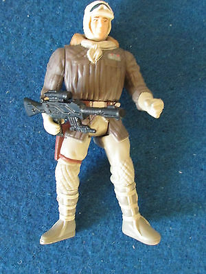 Star Wars Figure - Hans Solo - Hoth Gear - with blaster  - Kenner 1995