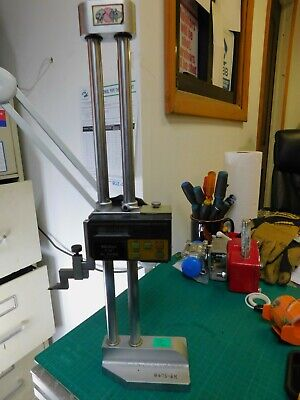 Mitutoyo 12 Digital Height Gage Pn 192-605 .001-12 W Carbide Tipped Scribe