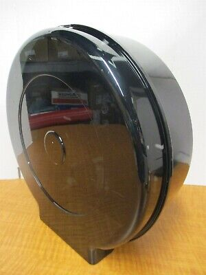 Jumbo Toilet Paper Dispenser Single 12 Roll Plastic Translucent Smoke New
