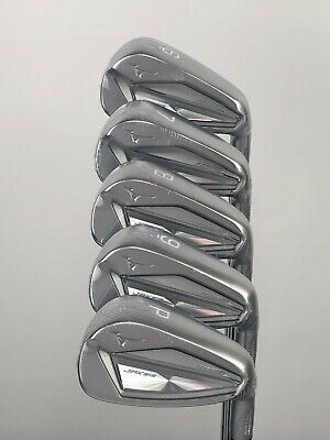 MIZUNO JPX 919 FORGED IRONS 6-PW REGULAR FLEX DYNAMIC GOLD AMT WHITE SHAFTS