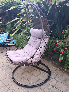 Large Hanging Egg Chair Belmont Geelong City Preview