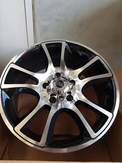 KING COBRA WHEELS ALLOY 17 X 7.5 SUIT COMMODORE 5/120 P.C.D