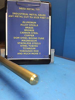 1 Diameter X 6-long 360 Brass Round Bar--1 Dia 360 Brass Rod