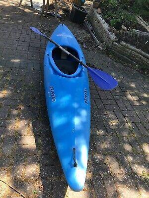 kayak used pyranha blue paddle