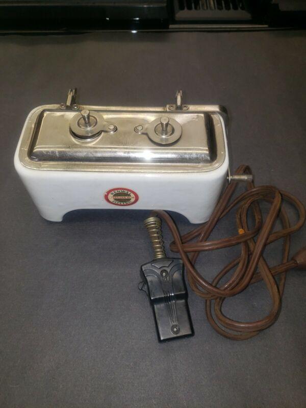 ANTIQUE PORCELAIN 1900S RENWAL # 18  ELECTRIC  STERILIZER  RARE