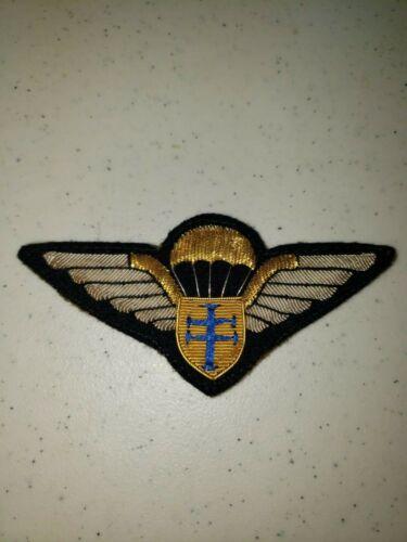 K1026 WW2 France French Army Free French Paratrooper Wing Bullion L3B