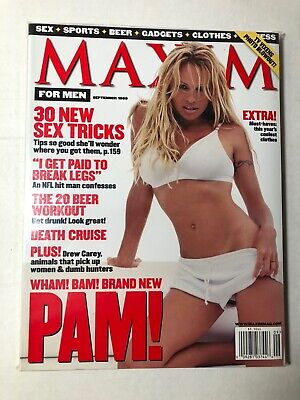 Maxim Magazine #21 September 1999 Pam Anderson Pamela Brand New Bagged & Boarded