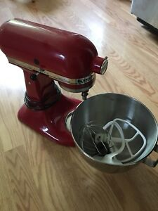 KitchenAid mixer and pasta maker