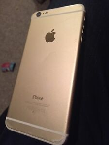 Gold iPhone 6 Plus 64gb Rogers/Fido