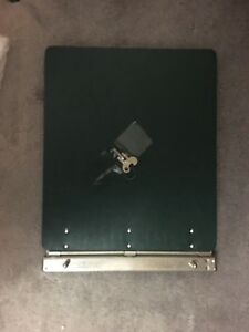 "Vinyl-Guarded Post Binder, 11""/1/2 x 15"",  hole to hole 8-1/4"""