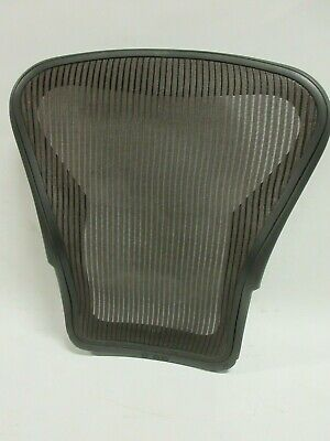 Herman Miller Aeron Chair Size B Graphite Back With Brown Mesh