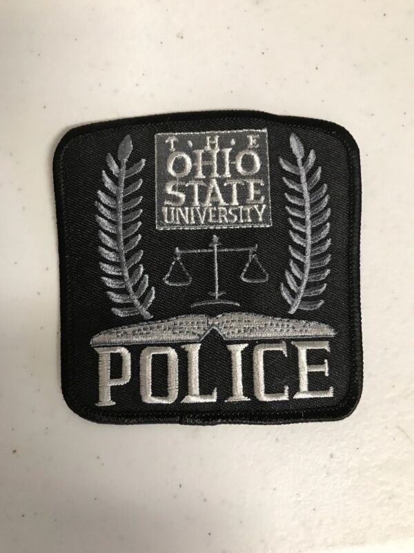 The Ohio State University Police Department Patch OH Buckeyes