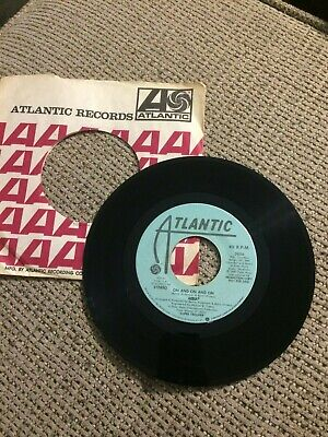 "Rare 1980 Atlantic ABBA ""On And On And On"" Promo 45 #3826 Nice Clean"