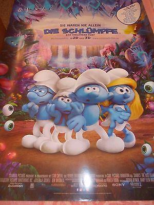 DIE SCHLÜMPFE - DAS VERLORENE DORF // Original KINO-Plakate DIN A1