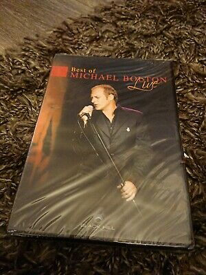 Michael Bolton - The Best Of - Live (DVD, 2005) NEW AND SEALED