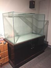 550-580 Litre Fish Tank With Cabinet Clovelly Park Marion Area Preview