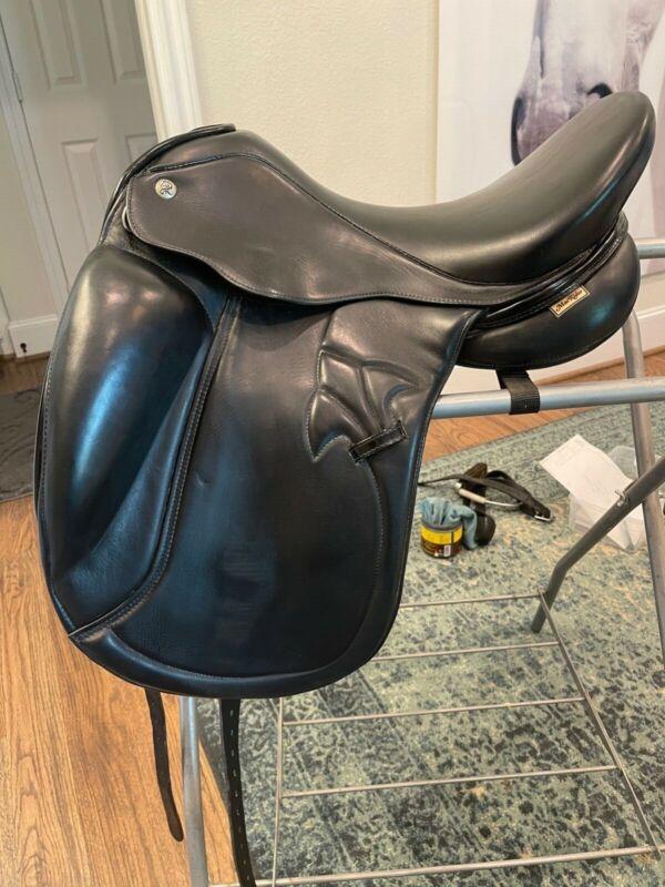 Mac Rider Olympic Dressage Saddle 17.5