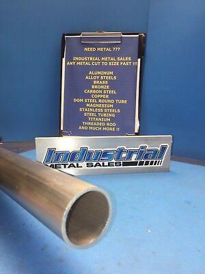 6061 Aluminum Round Tube 1-58 Od X 1-38 Id X 12-long Free Shipping