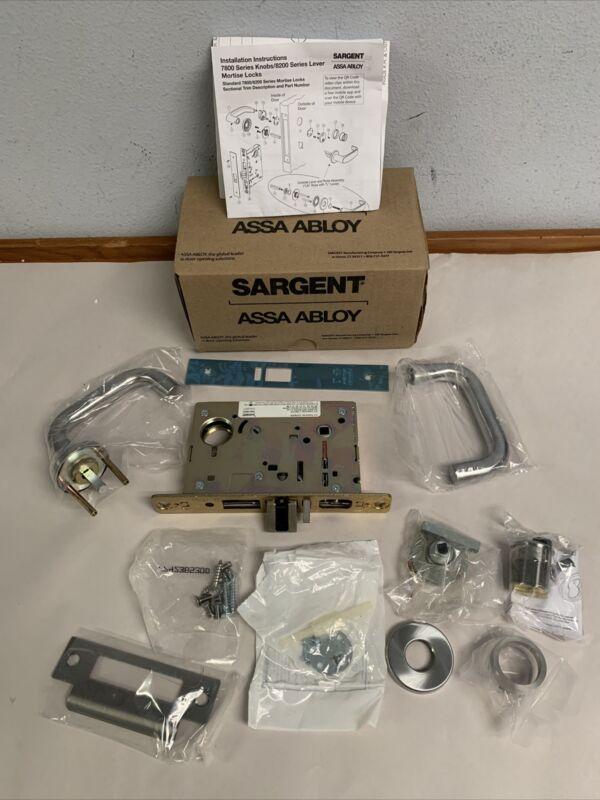 SARGENT 70-8205 Mortise lever lock 26D LNJ 8200 series