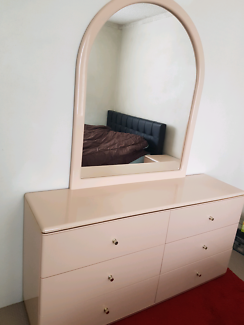 Dressing Table With Six Drawers for sale