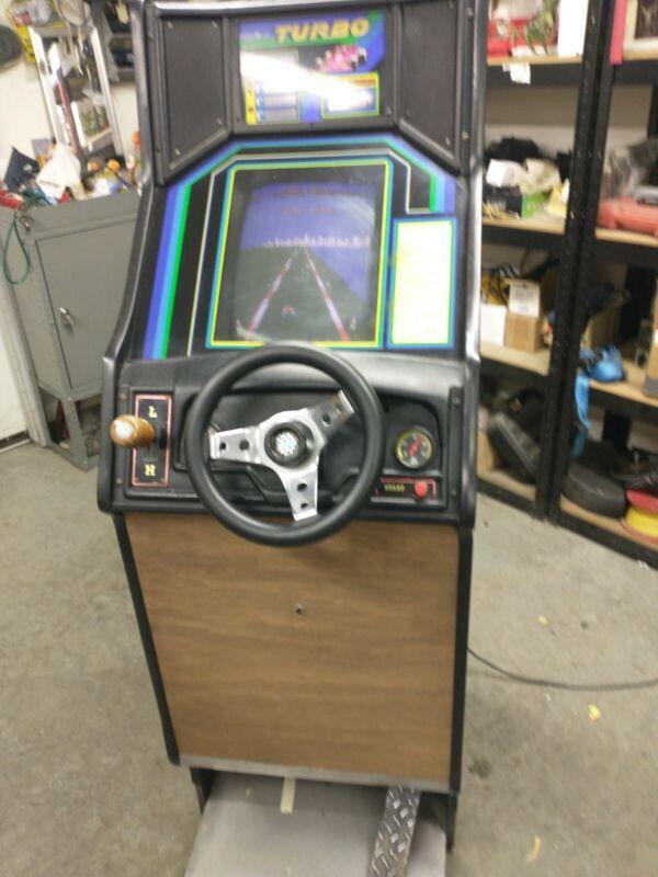 Sega Gremlin Turbo Driving Game Arcade Coin Operated Mini Retro 1981 Kokomo IN