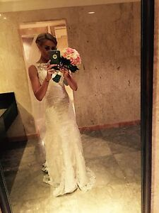 Grace Loves Lace Inspired Grorgeous Hand Made Wedding Dress Clear Island Waters Gold Coast City Preview