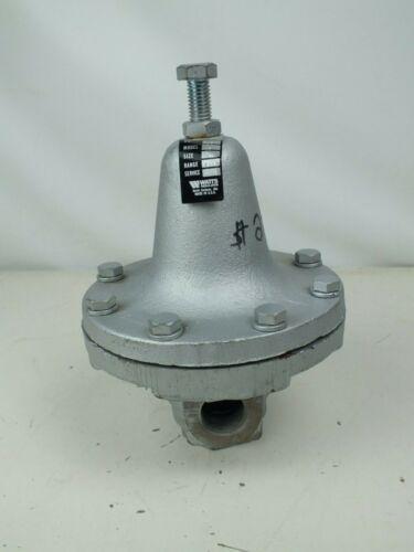 "Watts 152A Process Steam Pressure Regulator Iron, 3/4"" Pipe Size, Range 3-15"