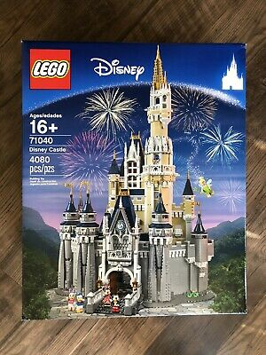 Sold Out NEW IN HAND LEGO Huge Set 71040 Disney Castle Mickey Minnie Mouse Duck