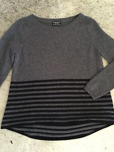 REPEAT CASHMERE Silver Edition 100 % CASHMERE Kaschmir Pulli Pullover Anthrazit