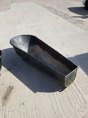 Vintage Galvanized Trough Planter bath 6ft long
