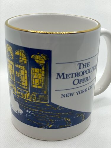 The Metropolitan Opera New York City Vintage Mug Coffee Cup